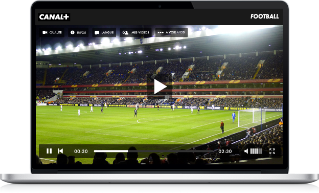 Player TV direct Canal+