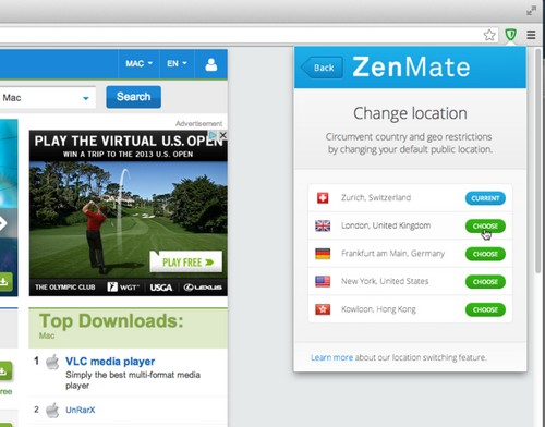 ZenMate VPN TV France